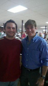 Myself with Michael Voris