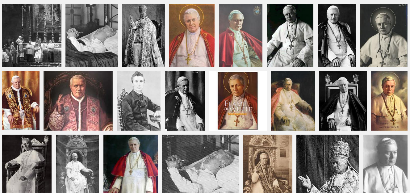 Pope St. Pius X Barely Smiles