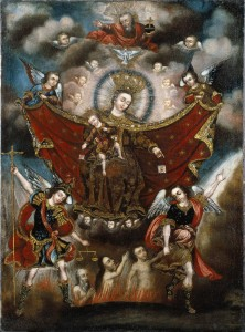 Our Lady of Carmel Saving Souls From Purgatory