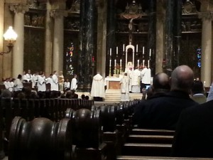 Pontifical High Mass with Bishop Cozzens 1