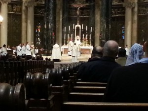 Pontifical High Mass with Bishop Cozzens 2