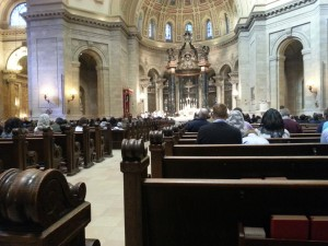 Pontifical High Mass with Bishop Cozzens 4