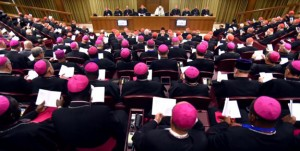 Pope Francis leads the Synod of Bishops on the family at Vatican