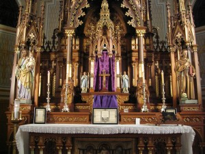 Traditional High Altar