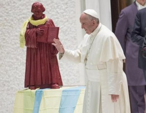 Pope Francis and Luther